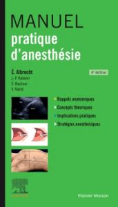 Manuel pratique d'anesthésie