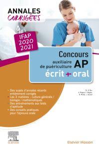 Concours Auxiliaire de puériculture - Annales corrigées - IFAP 2020