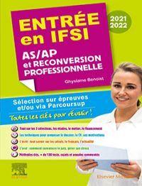 Entrée en IFSI 2021-2022 - AS/AP et reconversion professionnelle