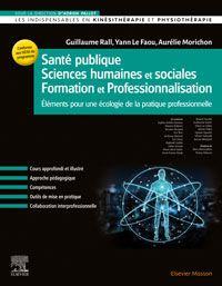 Kinésithérapie SAnté publique Sciences humaines Formation